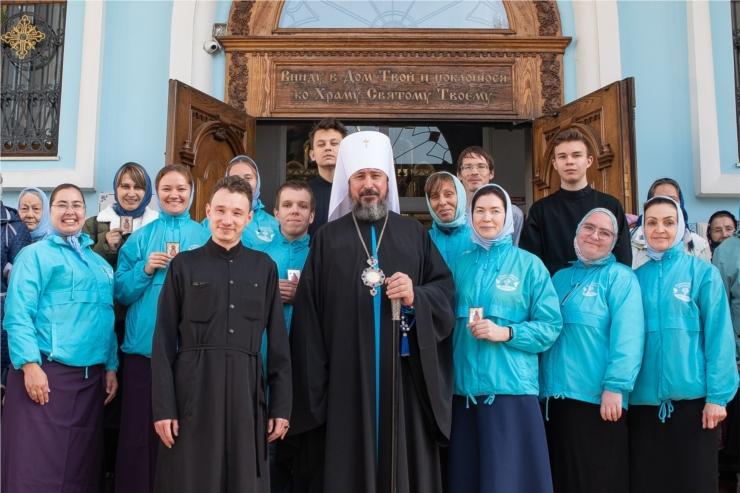Обращение митрополита Чебоксарского и Чувашского Савватия по случаю Дня православной молодежи